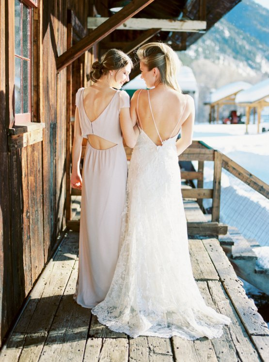 Contemporary Winter Wedding Inspiration by Rachel Havel and Bluebird Productions 37