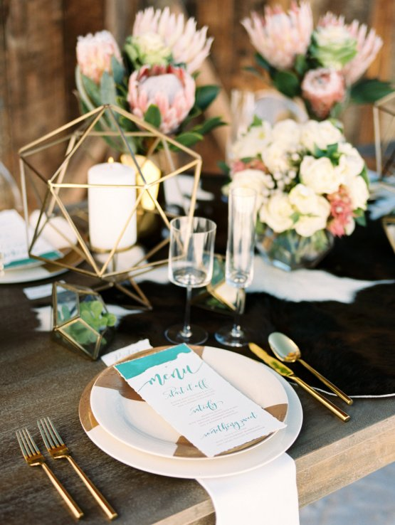 Contemporary Winter Wedding Inspiration by Rachel Havel and Bluebird Productions 9