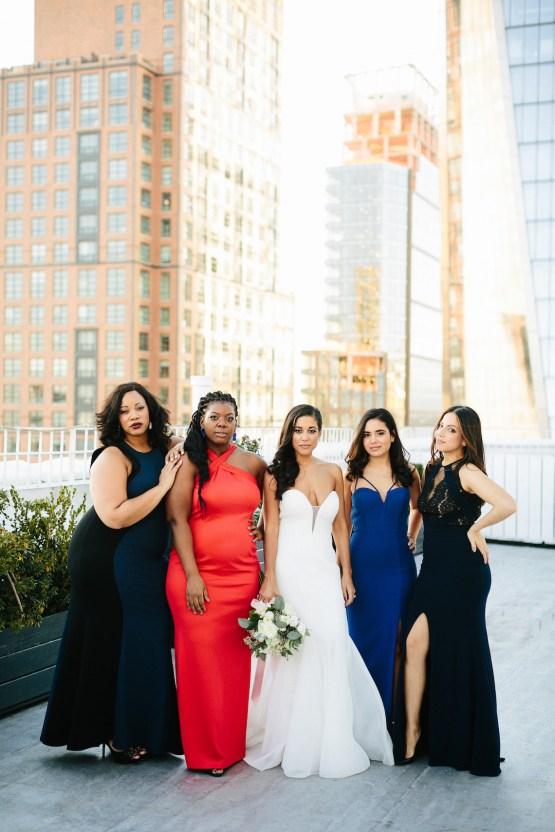 Cool Loft Wedding In New York by Chaz Cruz Photographers 13