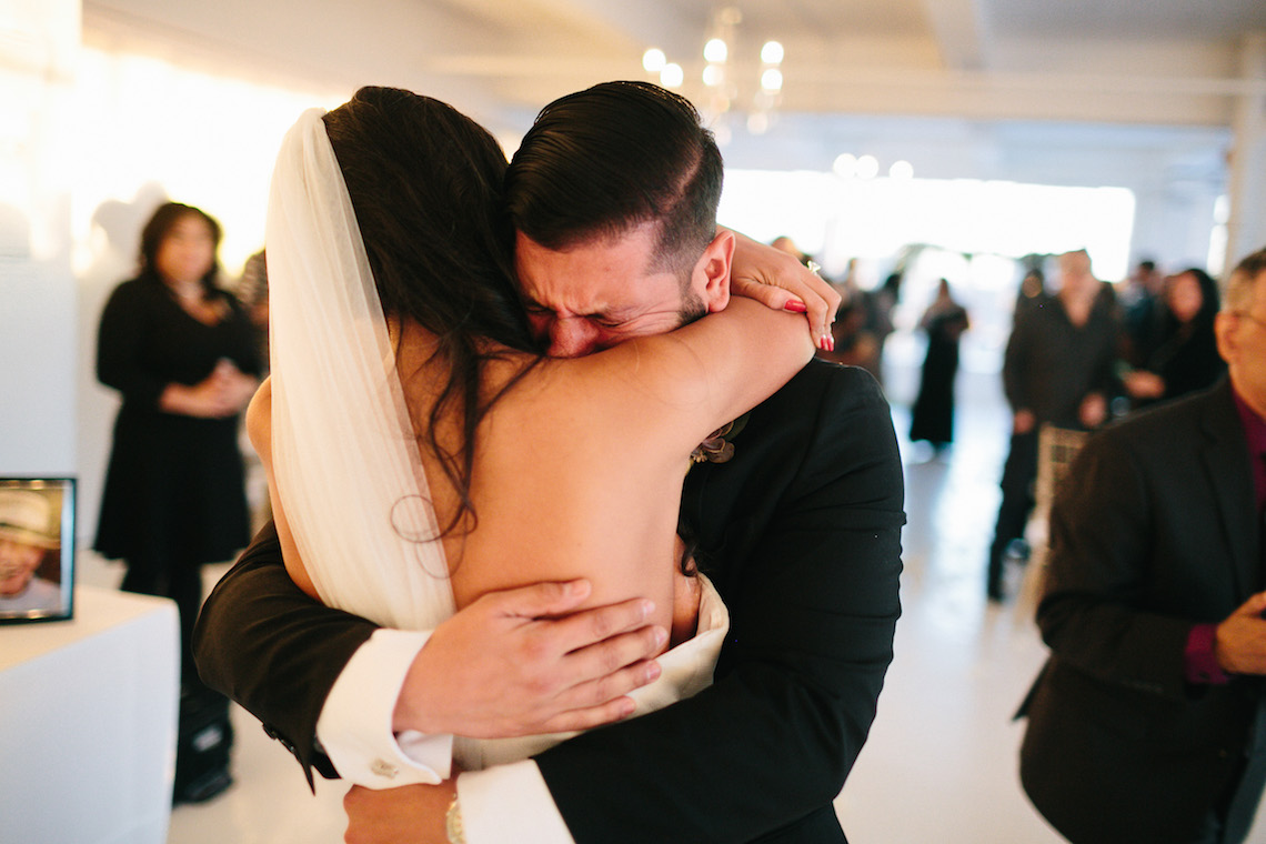 Cool Loft Wedding In New York by Chaz Cruz Photographers 24