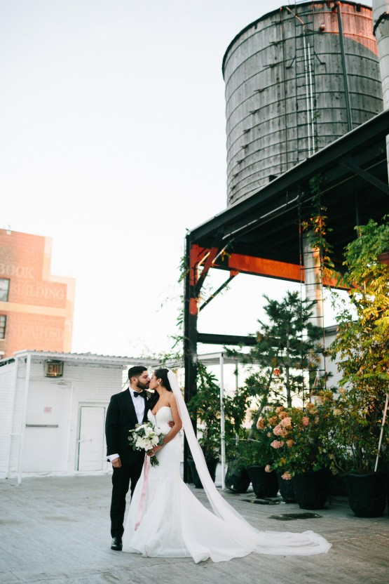 Cool Loft Wedding In New York by Chaz Cruz Photographers 25