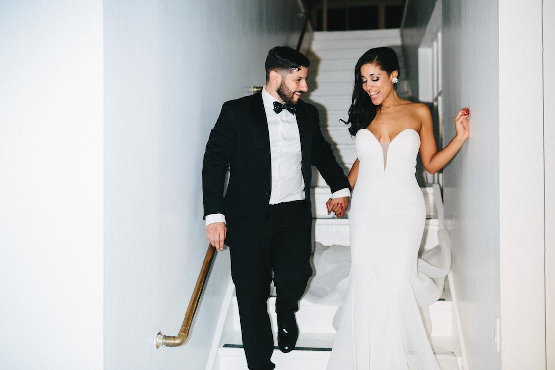 Cool Loft Wedding In New York by Chaz Cruz Photographers 31