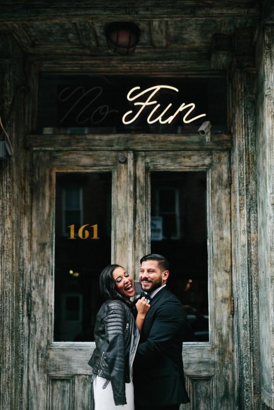 Cool Loft Wedding In New York by Chaz Cruz Photographers 39