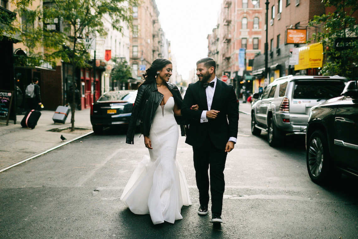 Cool Loft Wedding In New York by Chaz Cruz Photographers 43