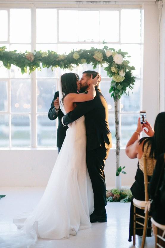 Cool Loft Wedding In New York by Chaz Cruz Photographers 57