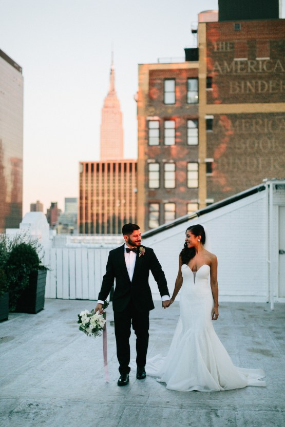 Cool Loft Wedding In New York by Chaz Cruz Photographers 58