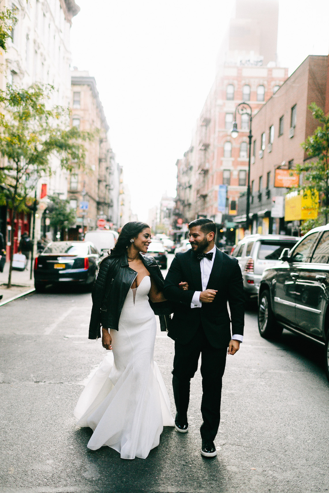 Cool Loft Wedding In New York by Chaz Cruz Photographers 6