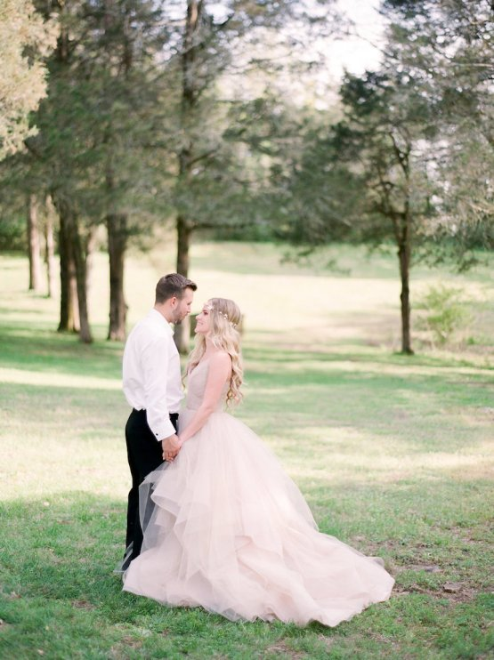 Elegant Pastel Wedding Inspiration by Christy Wilson Photography 1
