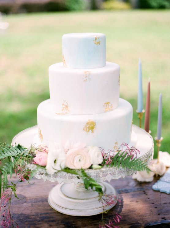 Elegant Pastel Wedding Inspiration by Christy Wilson Photography 15