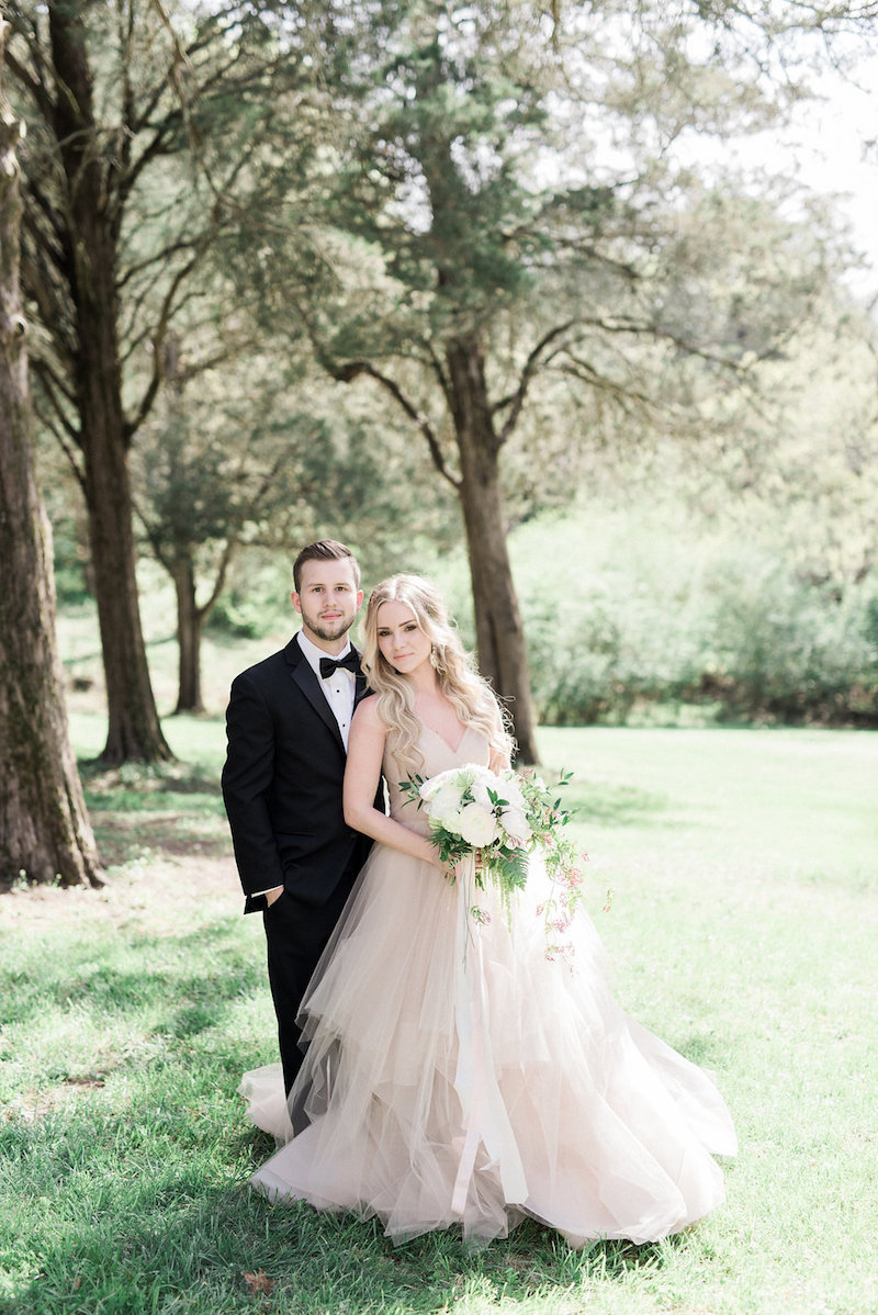 Elegant Pastel Wedding Inspiration by Christy Wilson Photography 28