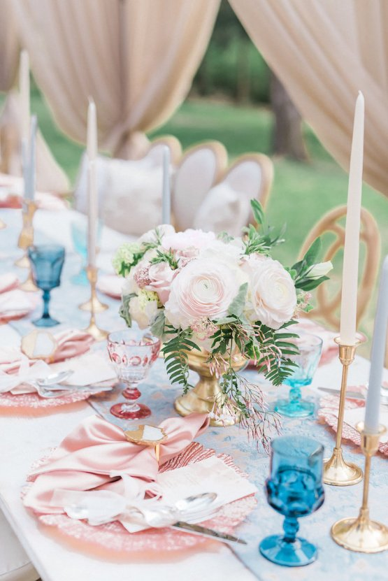 Elegant Pastel Wedding Inspiration by Christy Wilson Photography 31