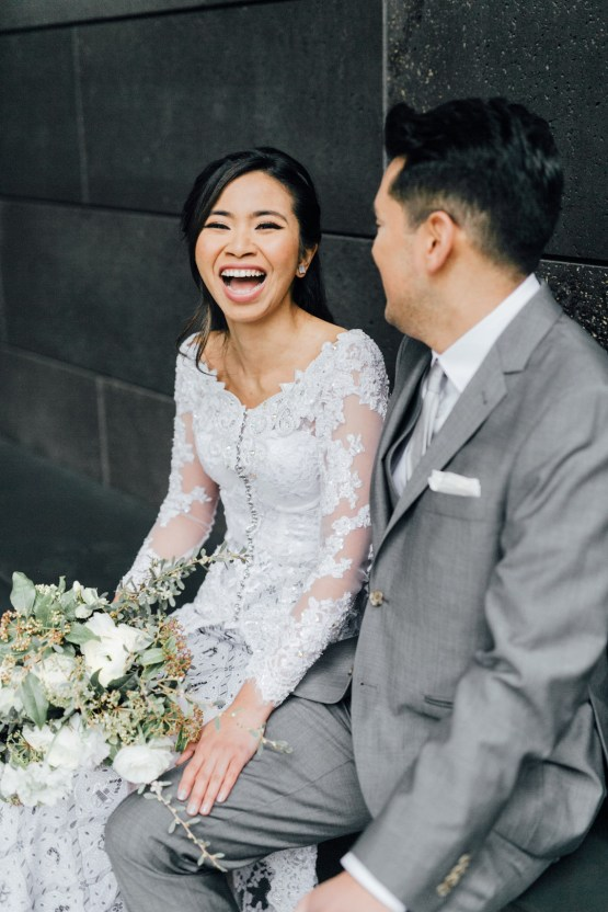 Gorgeous Restaurant Wedding by ComePlum Photography 49