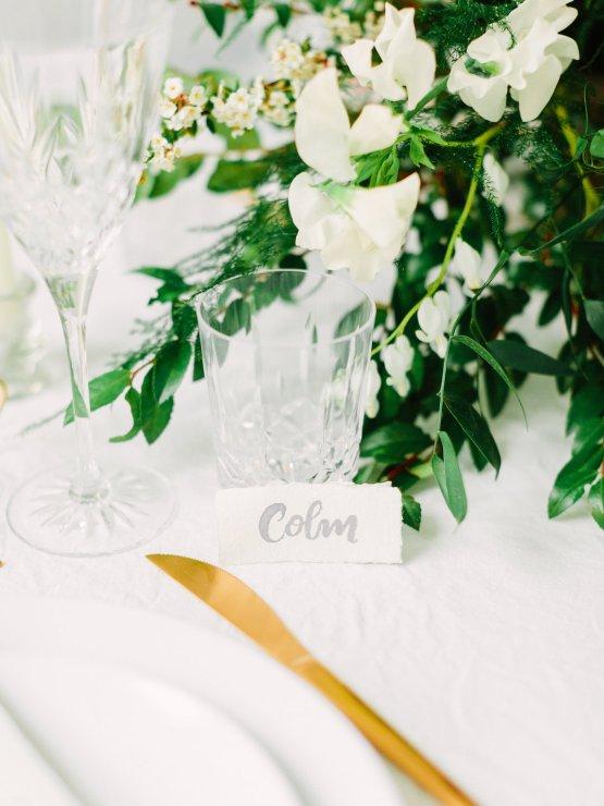 Minimalist Wedding Inspiration from Love & 40