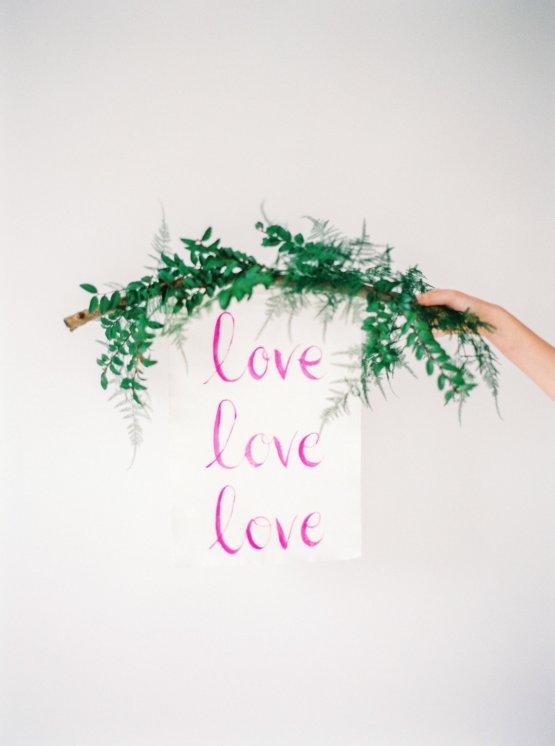 Minimalist Wedding Inspiration from Love & 50