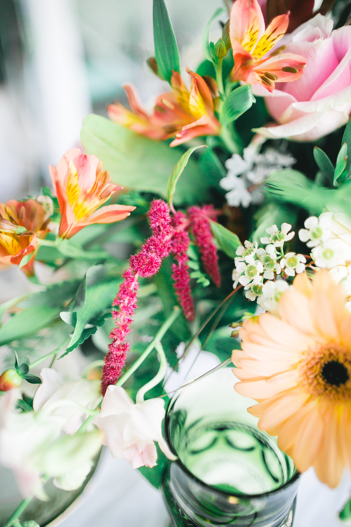 Modern LA Wedding Inspiration Hannah Q. Photography 18