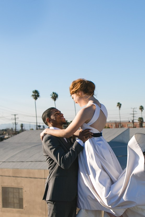 Modern LA Wedding Inspiration Hannah Q. Photography 26