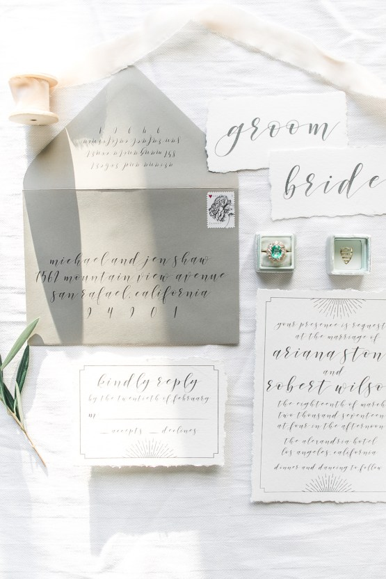 Modern LA Wedding Inspiration Hannah Q. Photography 28