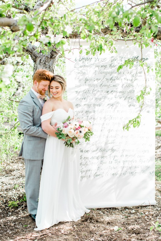 Bright and Colorful Apple Blossom Orchard Wedding Inspiration | Shanell Photography & Mitten Weddings and Events 17