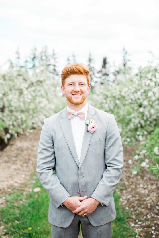 Bright and Colorful Apple Blossom Orchard Wedding Inspiration | Shanell Photography & Mitten Weddings and Events 5