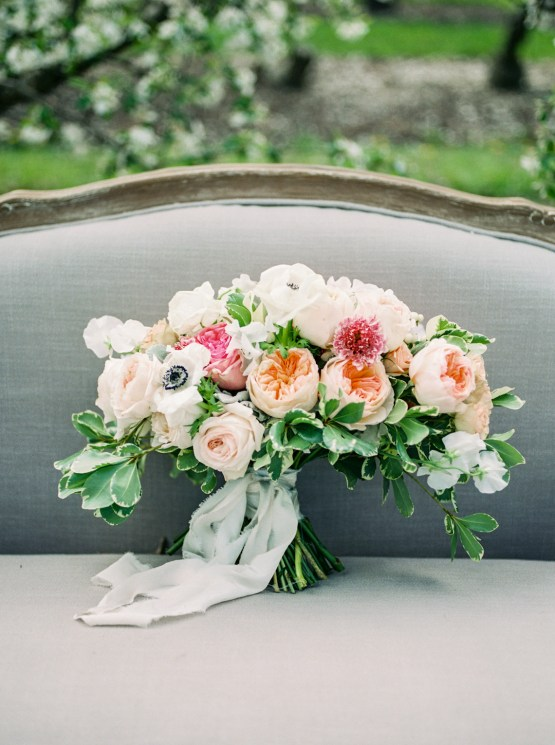 Bright and Colorful Apple Blossom Orchard Wedding Inspiration | Shanell Photography & Mitten Weddings and Events 51