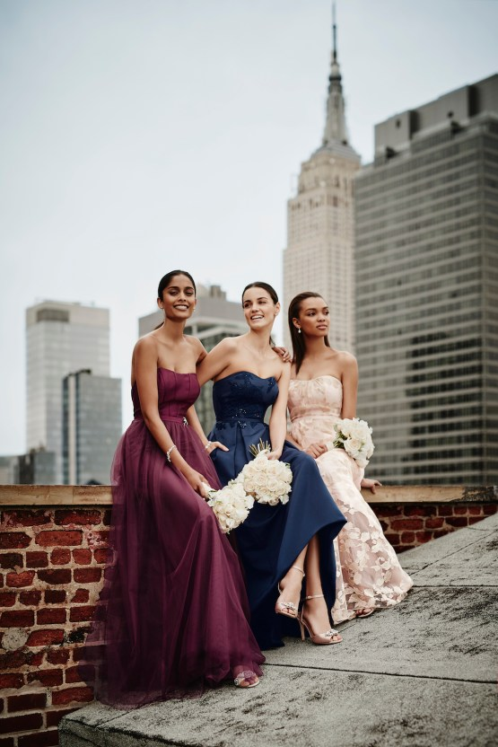 Classic Timeless Dresses For Your Royal Bridal Party | Oleg Cassini & David's Bridal 1