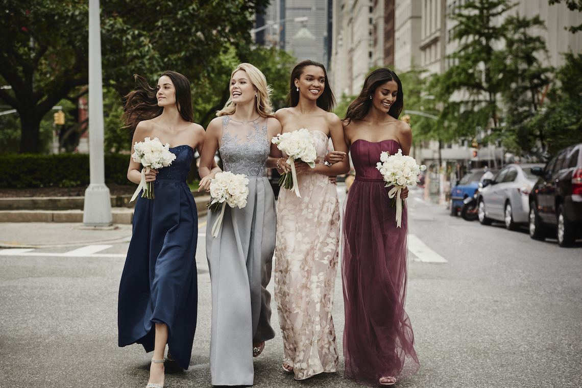Classic Timeless Dresses For Your Royal Bridal Party   Oleg Cassini & David's Bridal 4