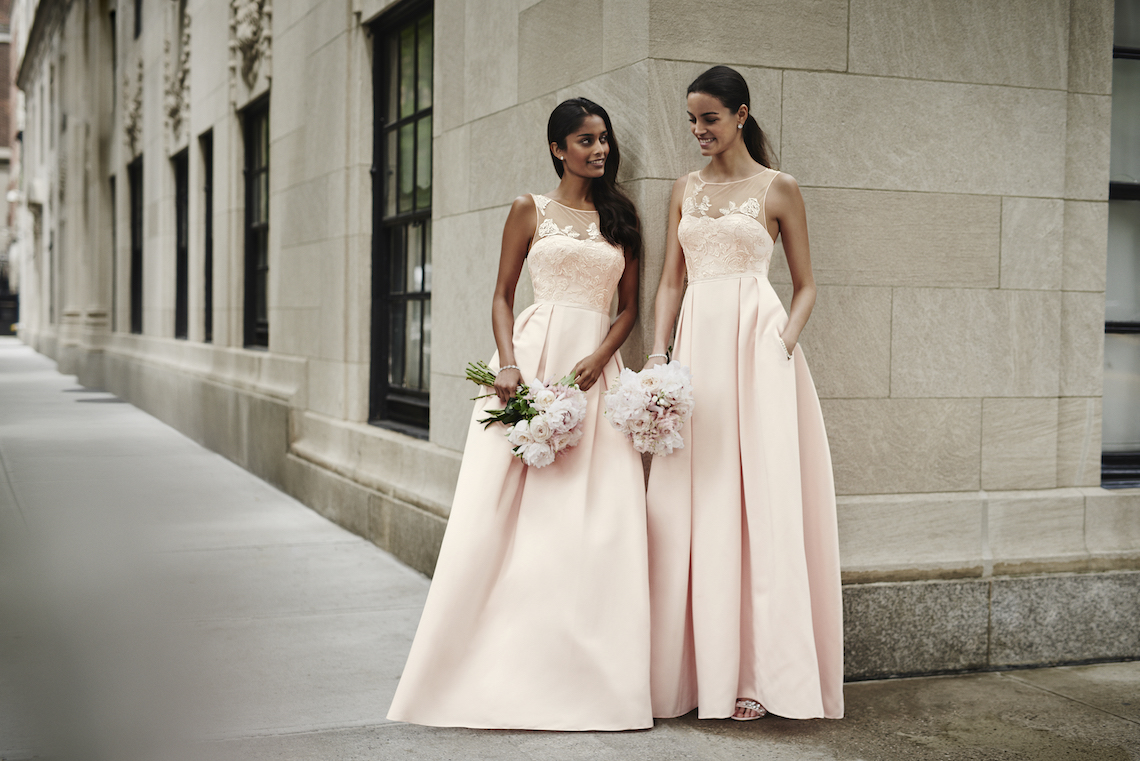 Classic Timeless Dresses For Your Royal Bridal Party   Oleg Cassini & David's Bridal 5