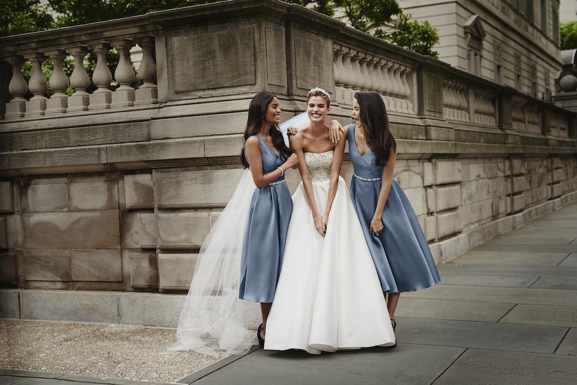 Classic Timeless Dresses For Your Royal Bridal Party   Oleg Cassini & David's Bridal 6