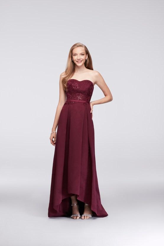 Classic Timeless Dresses For Your Royal Bridal Party   Oleg Cassini & David's Bridal 8 copy