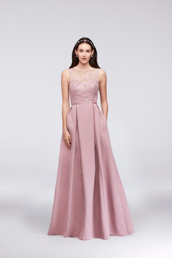 Classic Timeless Dresses For Your Royal Bridal Party   Oleg Cassini & David's Bridal 9