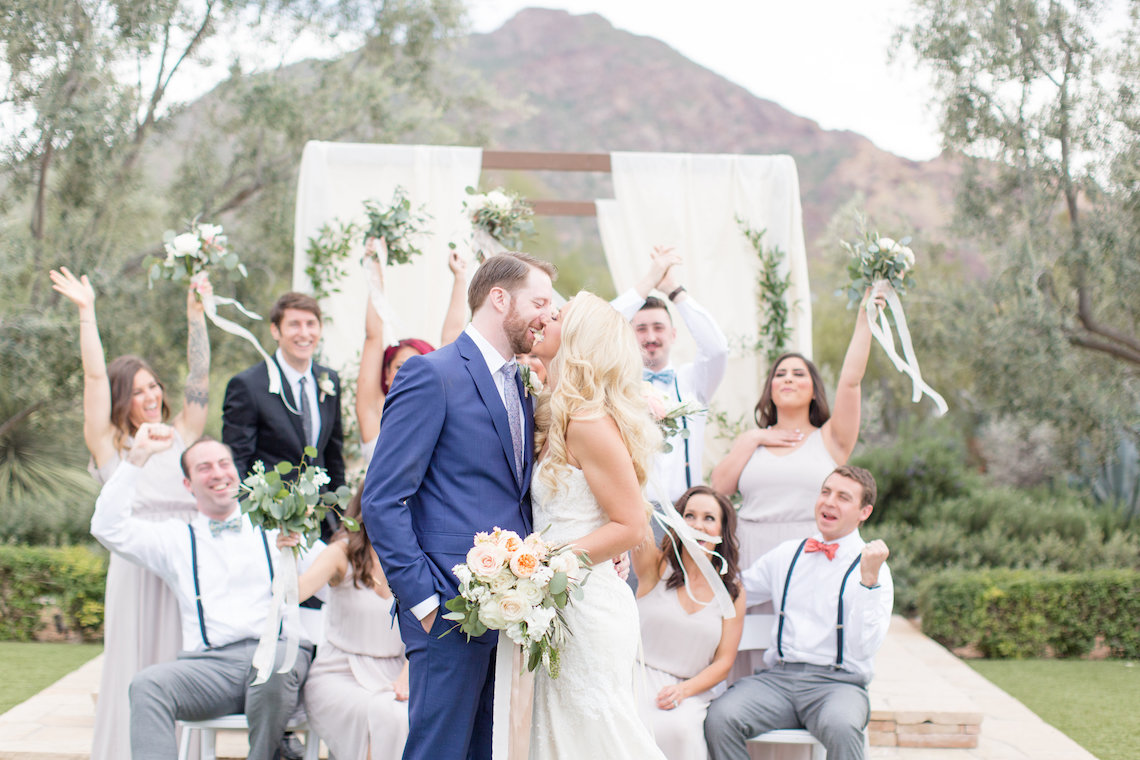 Dreamy Blush Pink Wedding in the Desert of Arizona | Amy & Jordan Photography