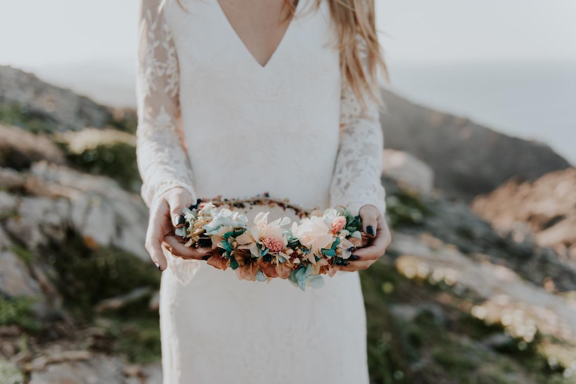 Free-Spirited & Panoramic Boho Wedding Inspiration | Sara Cuadrado and El Ramo Volador 5