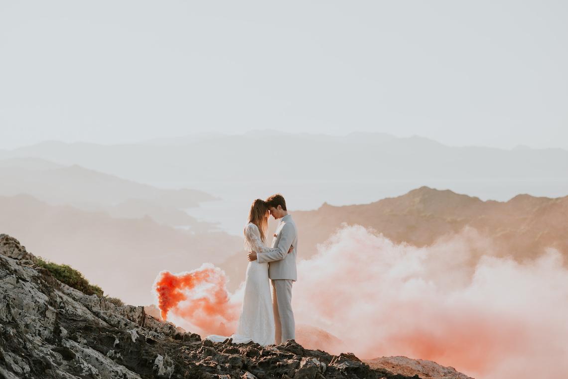 Free-Spirited & Panoramic Boho Wedding Inspiration | Sara Cuadrado and El Ramo Volador 8