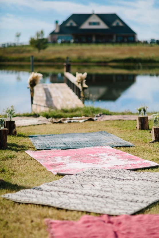 Fun, Scenic, Lakeside Wedding with Dried Floral Bouquets | Studio 1208 66