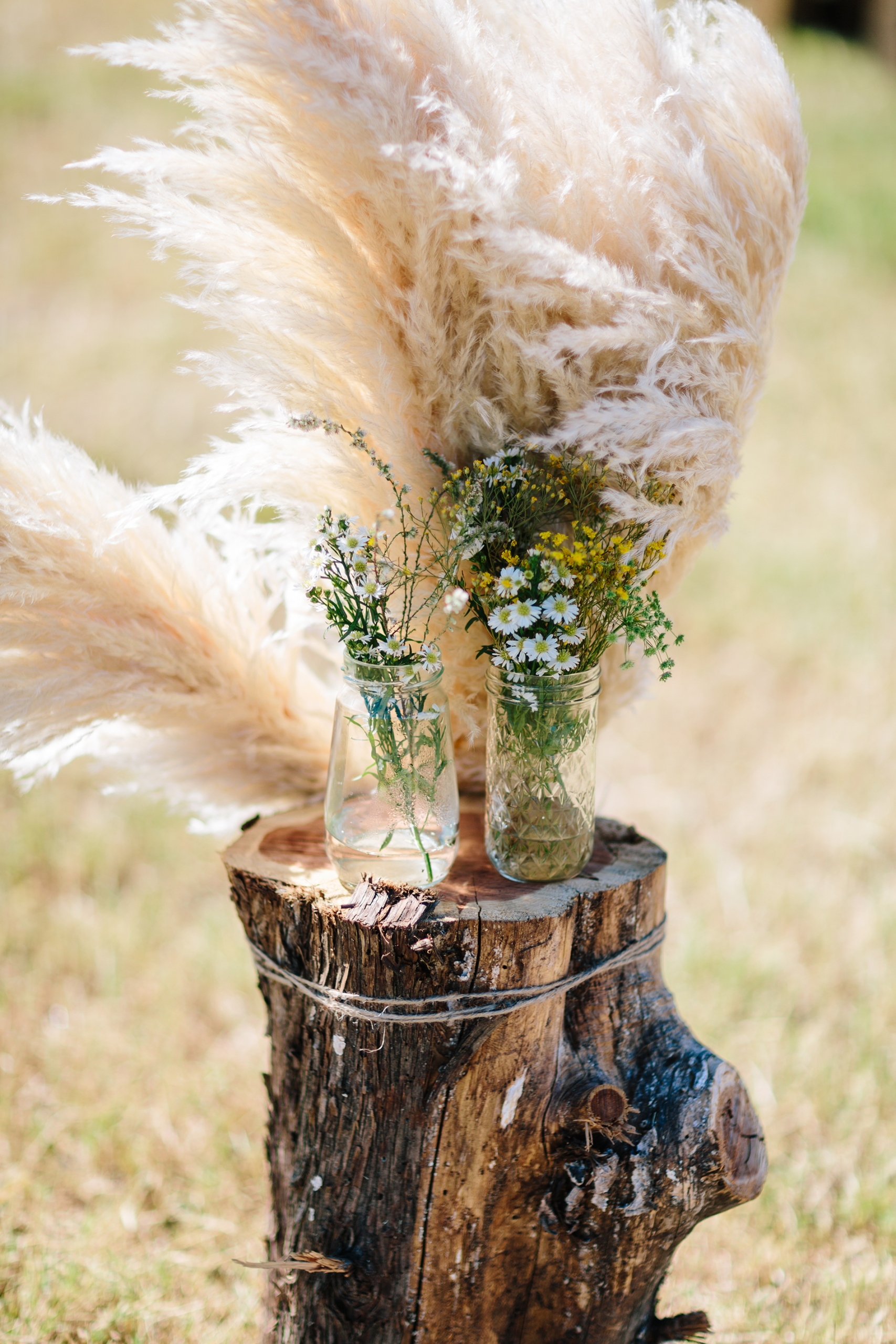 Fun, Scenic, Lakeside Wedding with Dried Floral Bouquets | Studio 1208 67