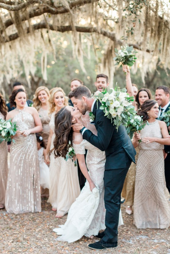 Gilded Florida Farm Wedding with an Adorable Golden Pup | Lauren Galloway Photography 38