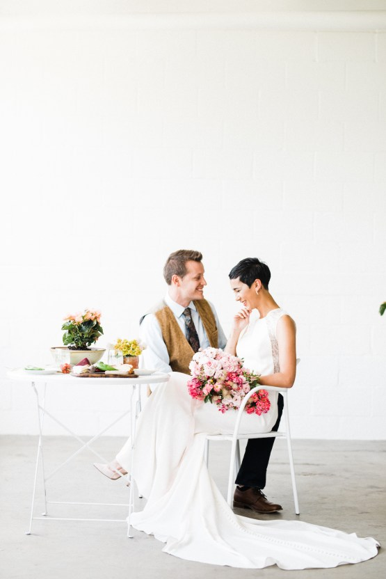 Modern garden styled shoot with Mandy in Salt Lake City, Utah.
