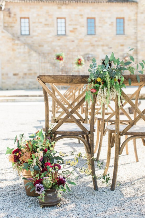 Romantic Gold, Grey and Berry Vineyard Wedding Inspiration | Jenny Quicksall & An Enlightened Event 28