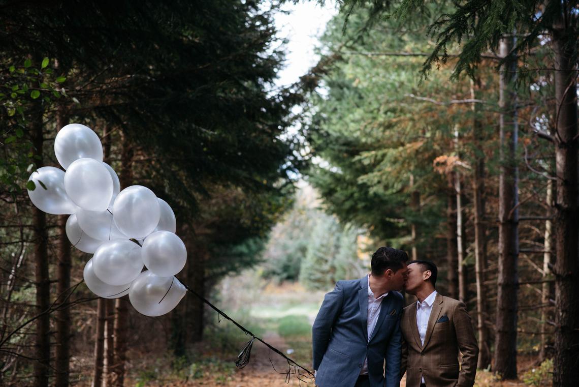 Rustic Autumnal Toronto Wedding | Laura May 32