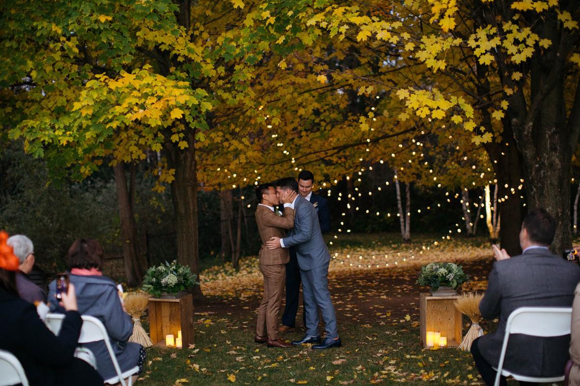 Rustic Autumnal Toronto Wedding | Laura May 52