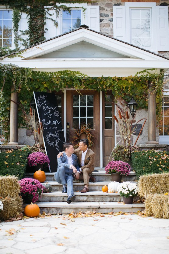 Rustic Autumnal Toronto Wedding | Laura May 70