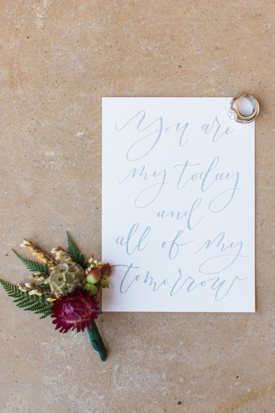 Romantic Gold, Grey and Berry Vineyard Wedding Inspiration | Jenny Quicksall & An Enlightened Event 21
