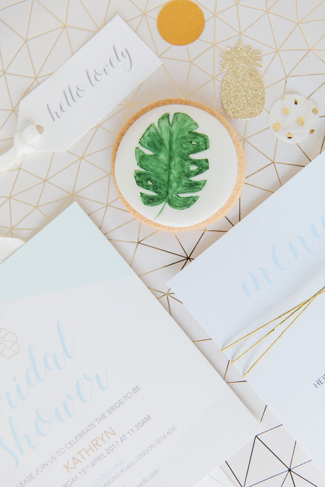Colorful Bridal Bash with Oodles of Chic Tropical Treat Ideas | Maxeen Kim 56