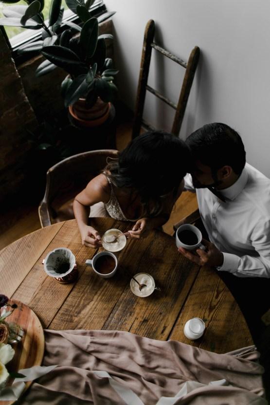 Cozy & Intimate Coffee Shop Elopement Inspiration | Grace Niu Avila 22