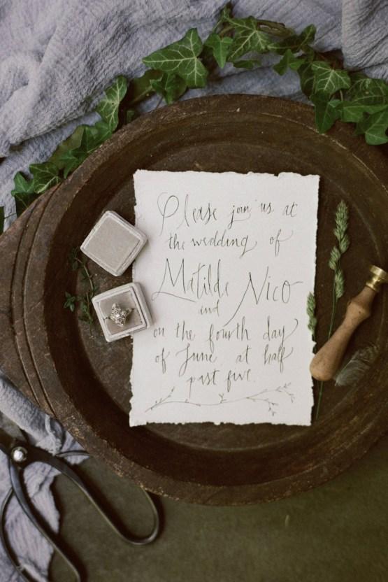 Romantic Candlelit Wedding Inspiration Full of Drama | Megan Wynn 14