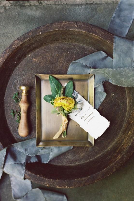 Romantic Candlelit Wedding Inspiration Full of Drama | Megan Wynn 24
