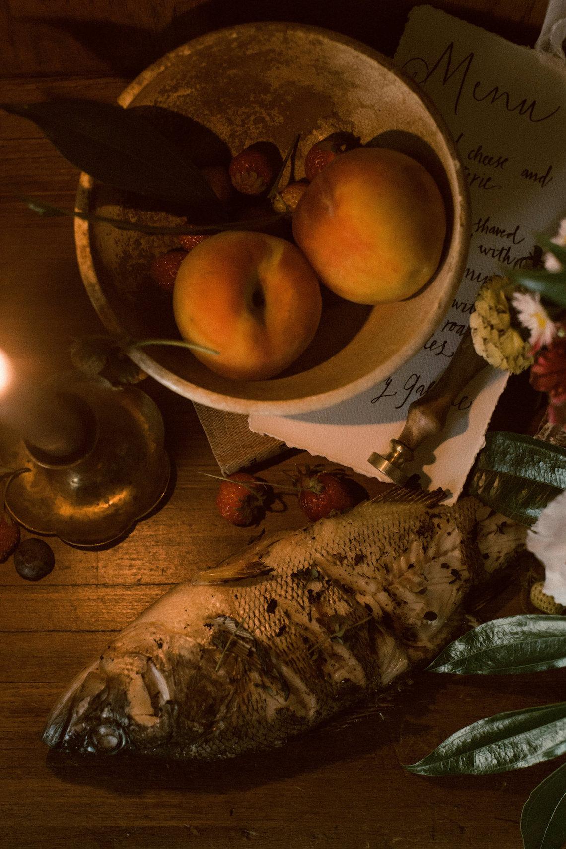 Romantic Candlelit Wedding Inspiration Full of Drama | Megan Wynn 30
