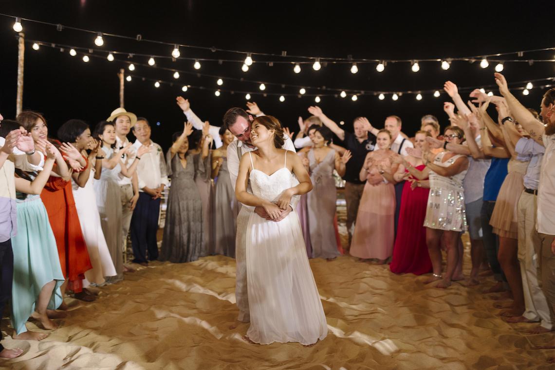 The Dreamiest Sunset Beach Wedding in Thailand | Darin Images 22