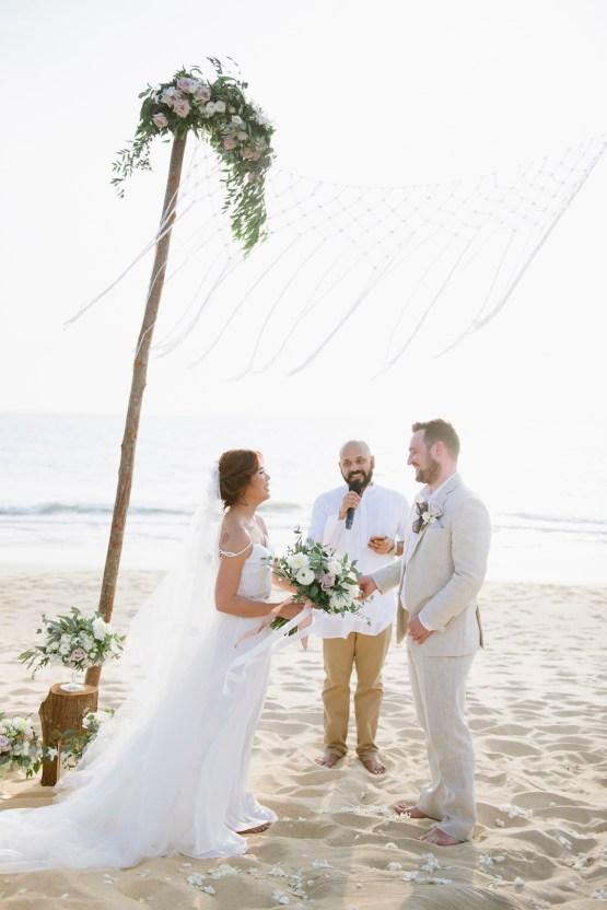 The Dreamiest Sunset Beach Wedding in Thailand | Darin Images 38