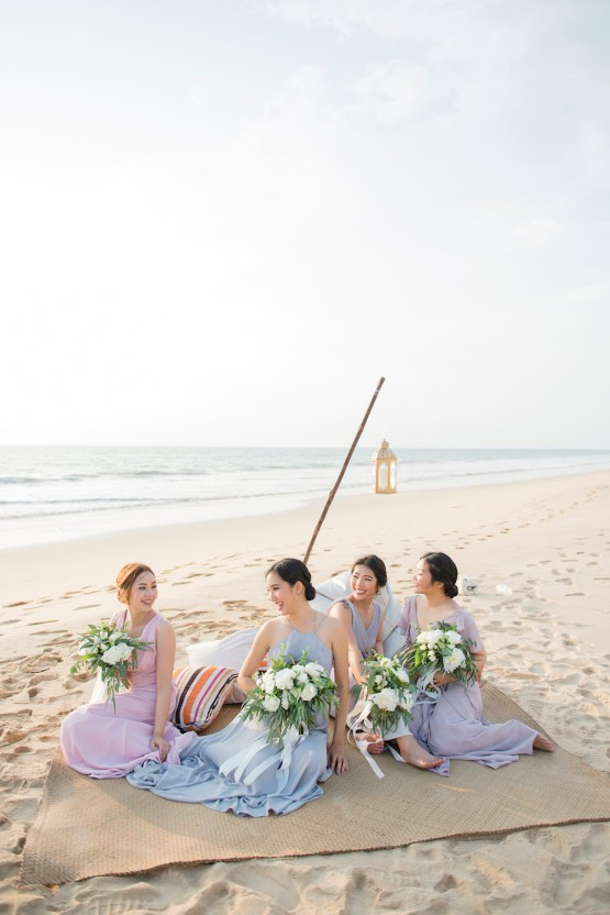The Dreamiest Sunset Beach Wedding in Thailand | Darin Images 42